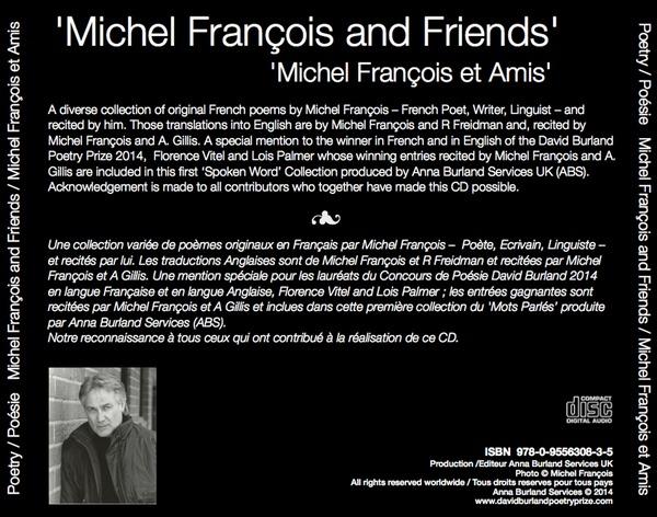 Michel Francois CD back cover