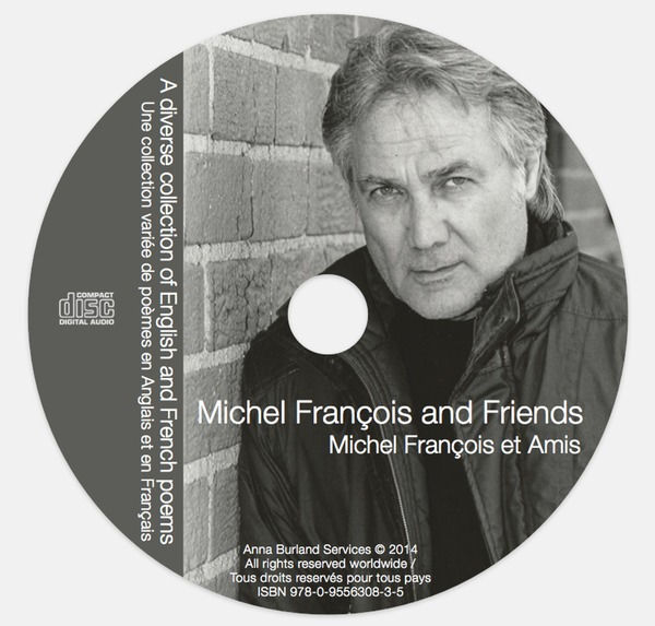 Michel Francois CD disc